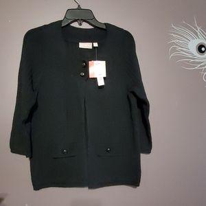 Croft & Barrow Cardigan Sweater. Sz. PM. NWT